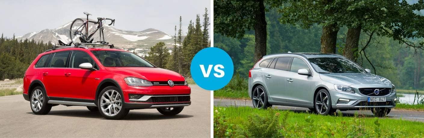 Volkswagen Golf Alltrack vs Volvo V60