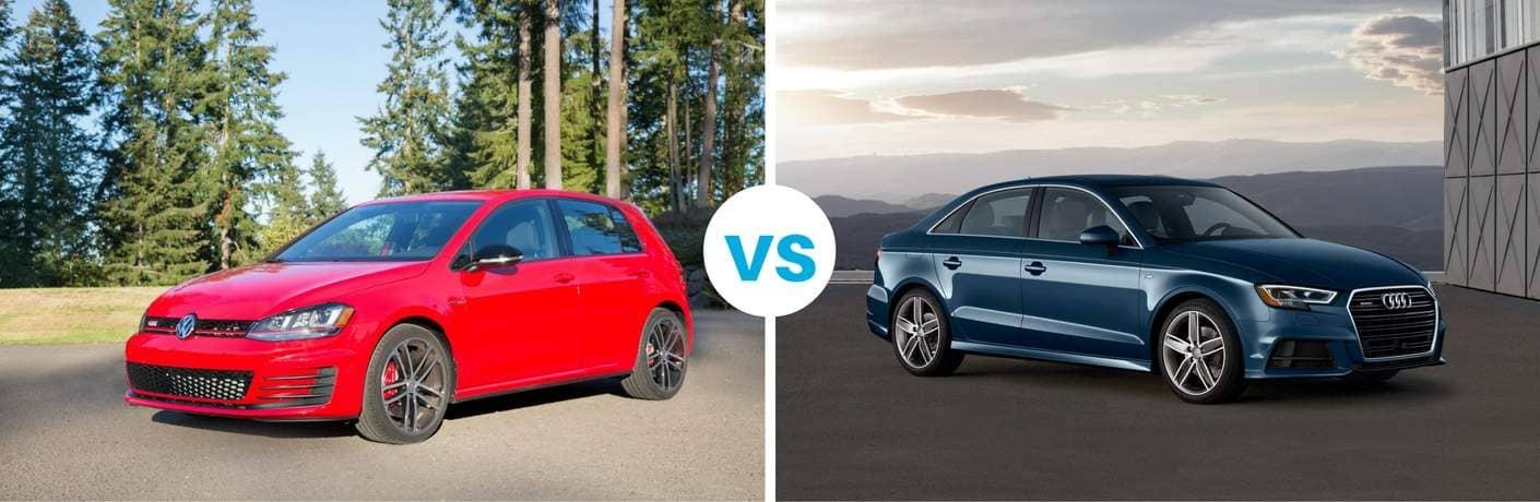 Golf GTI vs Audi A3