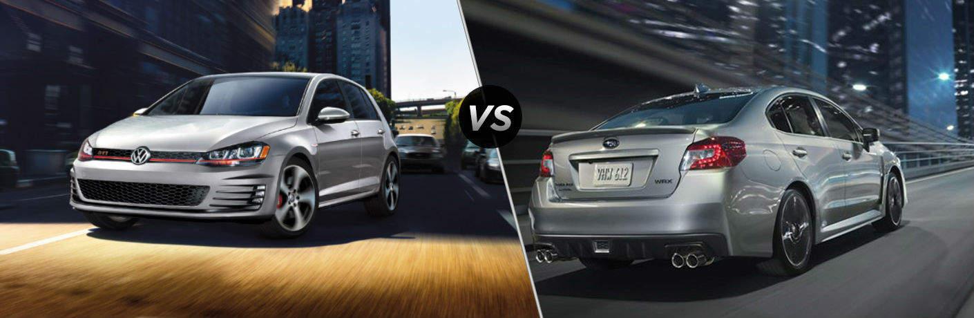 Golf GTI vs Subaru WRX
