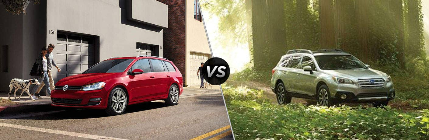 Golf SportWagen VS Subaru Outback
