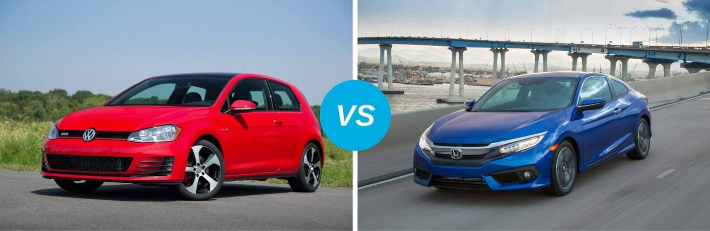 Volkswagen Golf vs Honda Civic