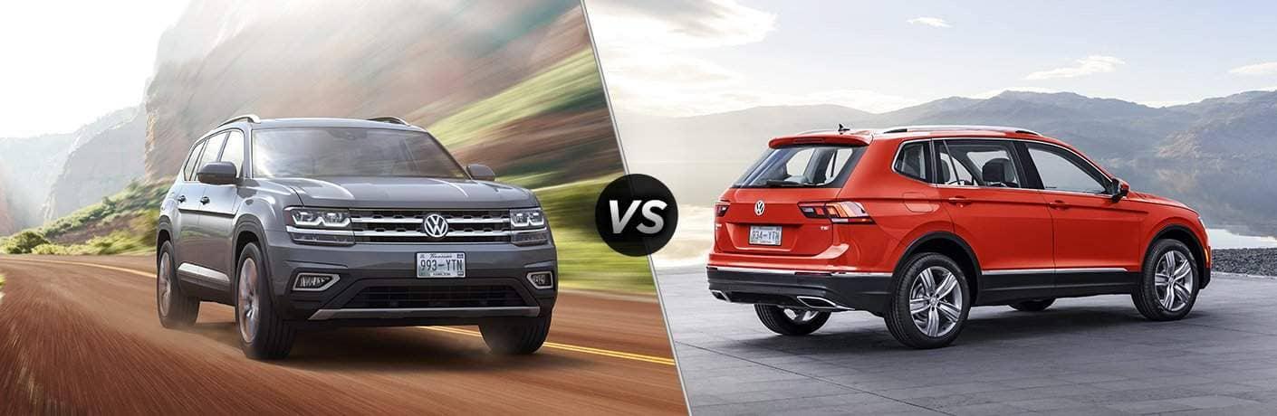 Volkswagen Atlas vs Volkswagen Tiguan