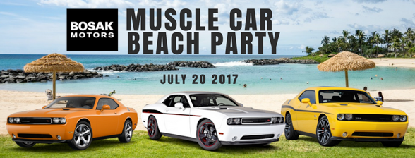 Muscle Car Beach Party