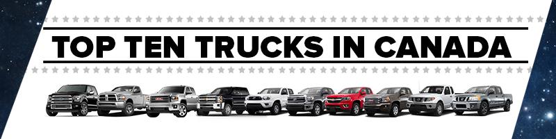 Top Selling Trucks in Canada