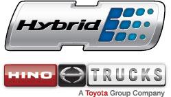 Hino hybrid logo