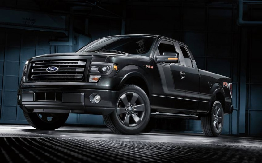 All New Ford F