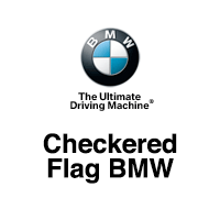 Checkered Flag BMW