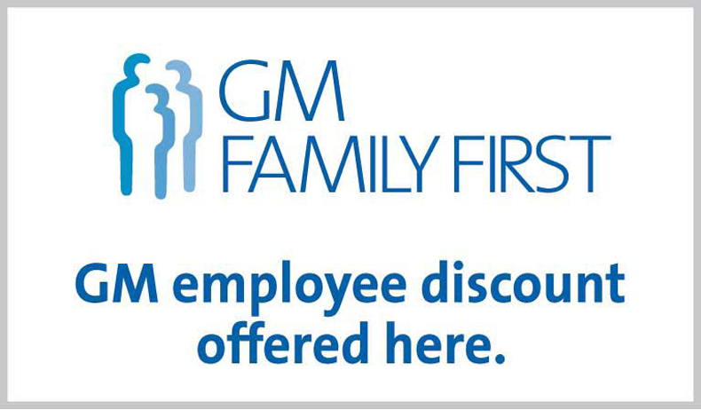 Gm employee discount chesrown chevrolet buick gmc gm employee discount fandeluxe Choice Image