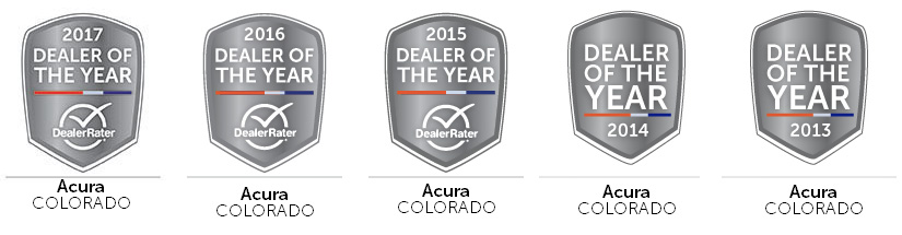 Dealer Rater Acura Dealer of the Year