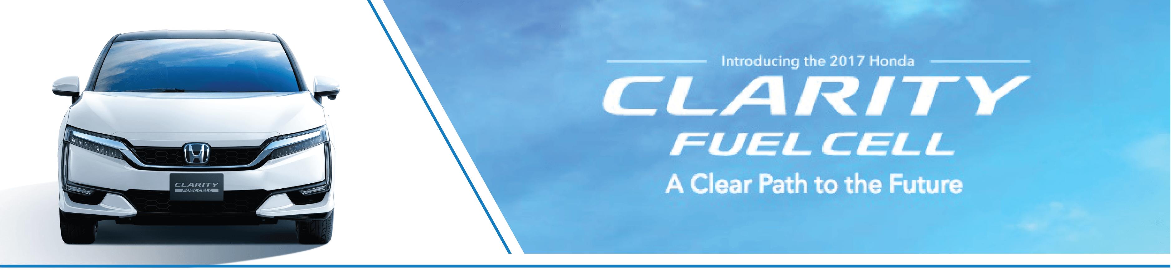 2017 Honda Clarity Banner