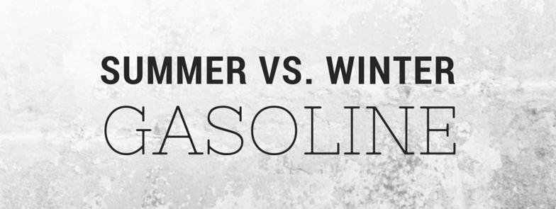Summer Vs. Winter: Gasoline