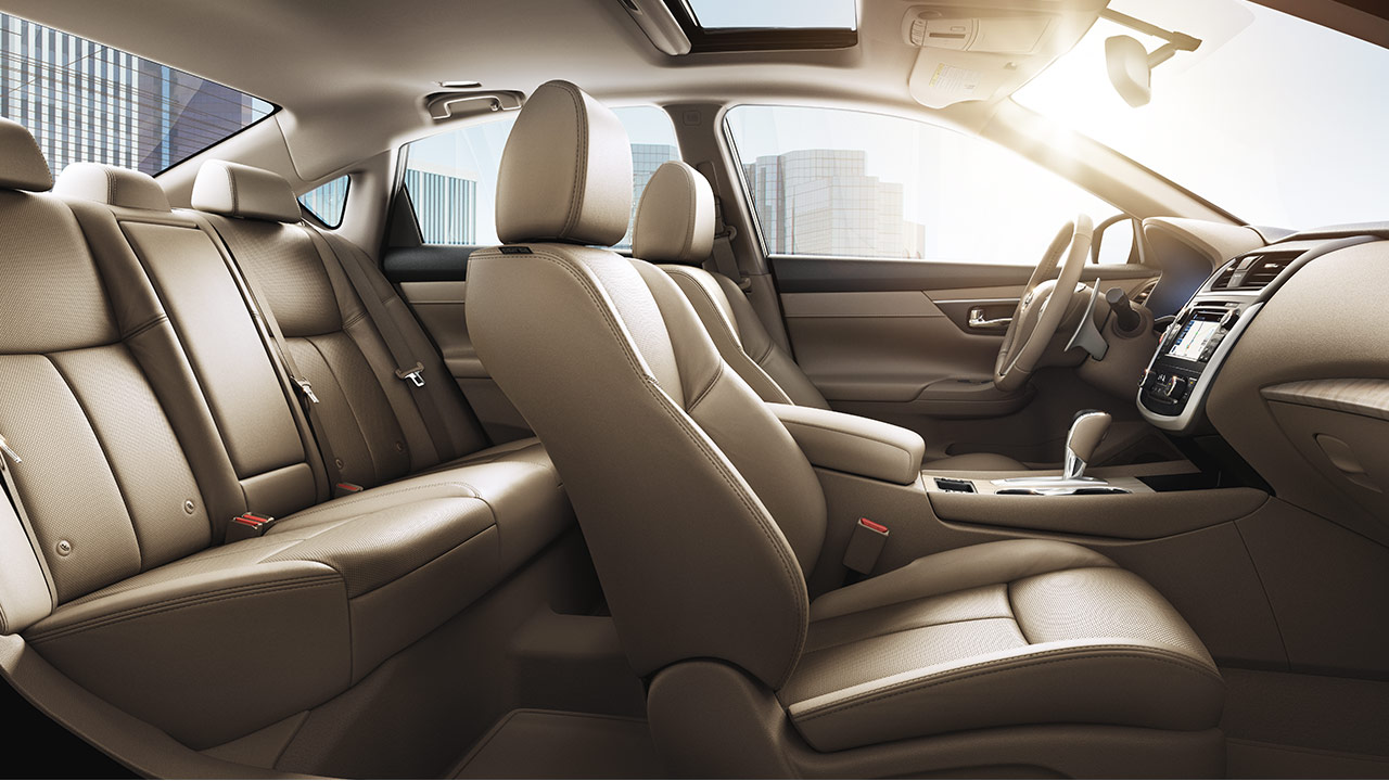 TAKE COMMAND OF YOUR CLIMATE. The Spacious Interior Of The Altima ...
