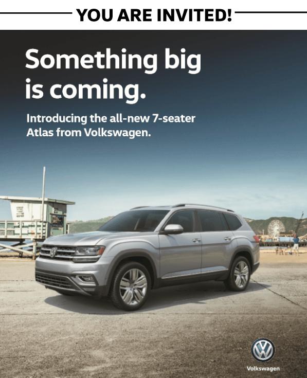 VW Atlas Launch Party