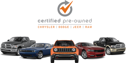 Pre-Owned Chrysler, Dodge, Jeep, Ram Vehicles
