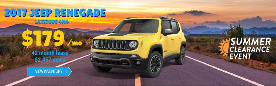 Jeep Renegades