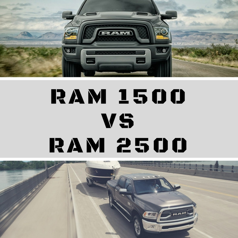 Ram 1500 Vs Ram 2500 | Landers Chrysler Dodge Jeep Ram Of Norman