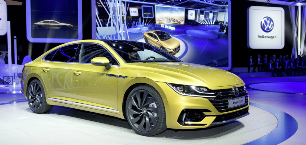 2019 volkswagen arteon sedan unveiled larry roesch. Black Bedroom Furniture Sets. Home Design Ideas