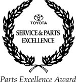 Service & Parts Excellence Award