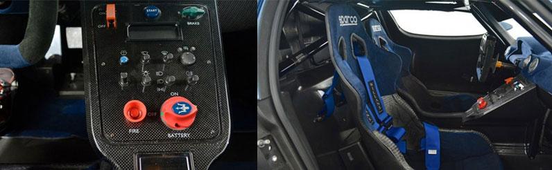 Maserati Super Car MC12 Versione Corse Interior