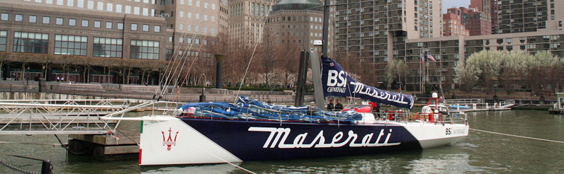Maserati Yacht Racing