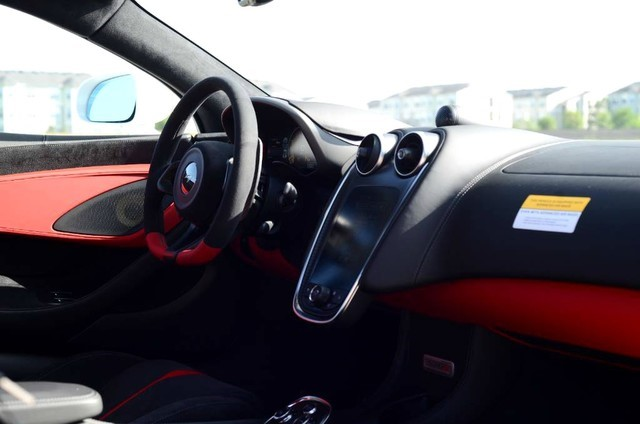 McLaren 570S Sports Series Interior