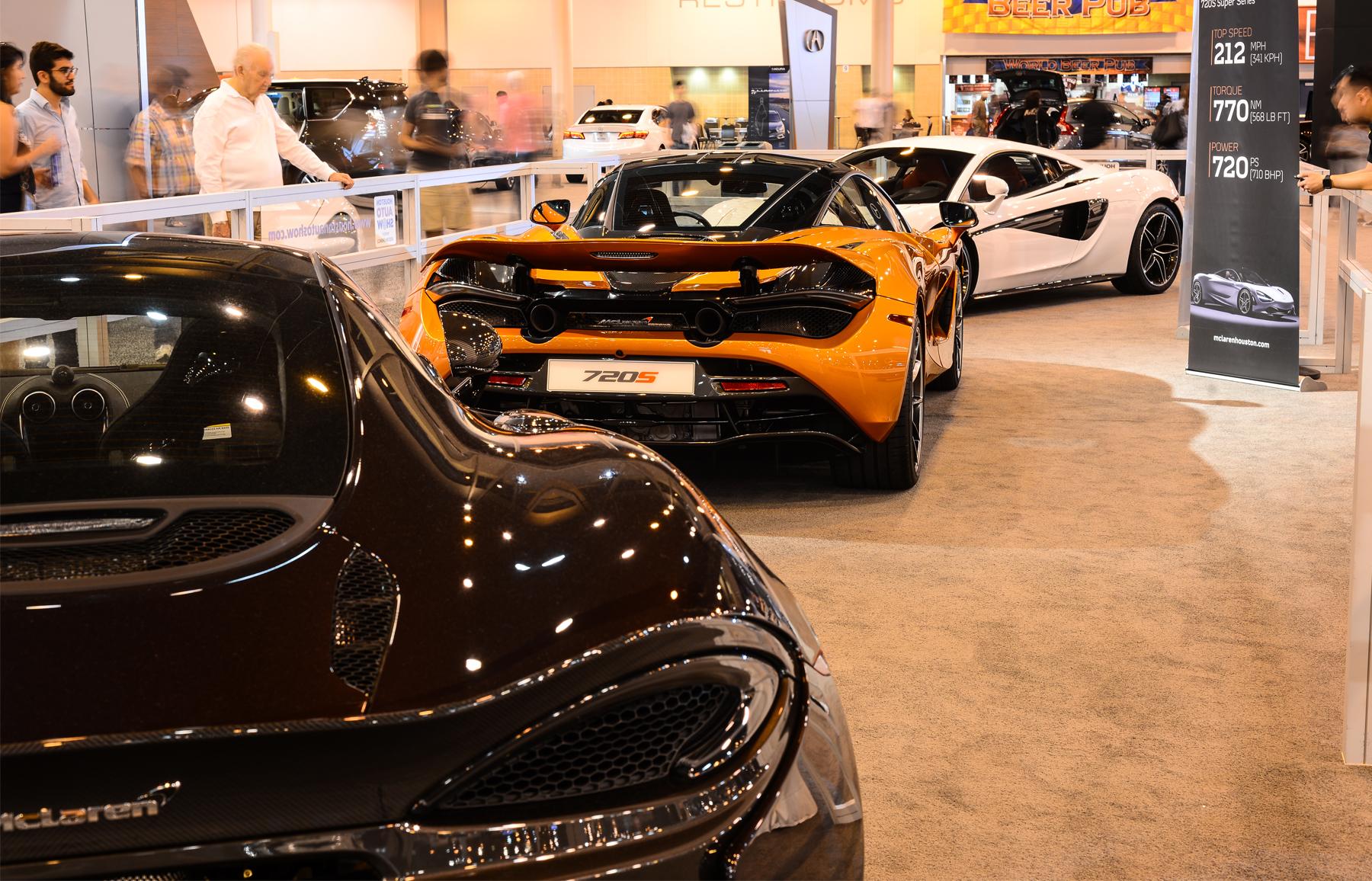 McLaren S Reveal At The Houston Auto Show McLaren Houston - Car show houston