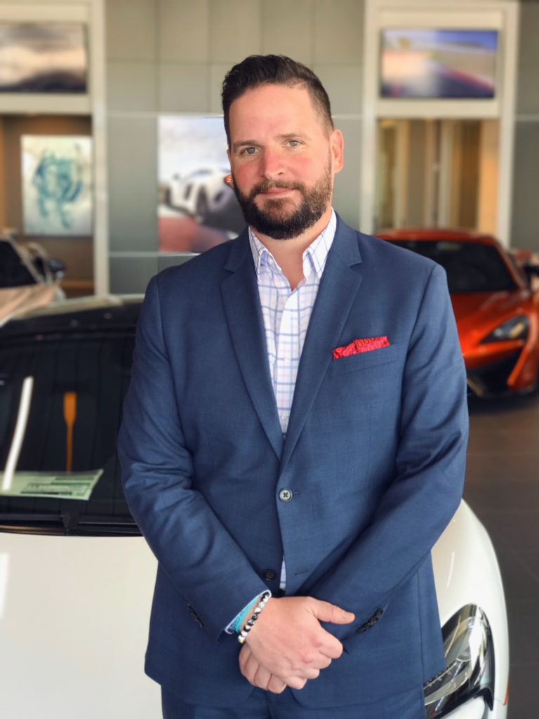 McLaren Houston General Manager David Bohn