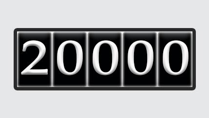 20000 MILES