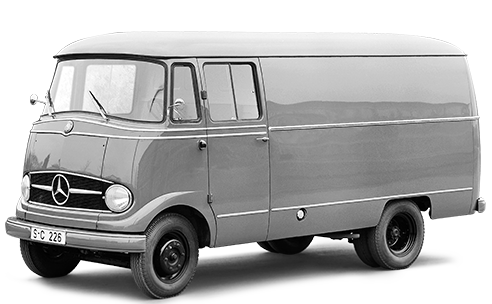 Mercedes-Benz L 319 Van