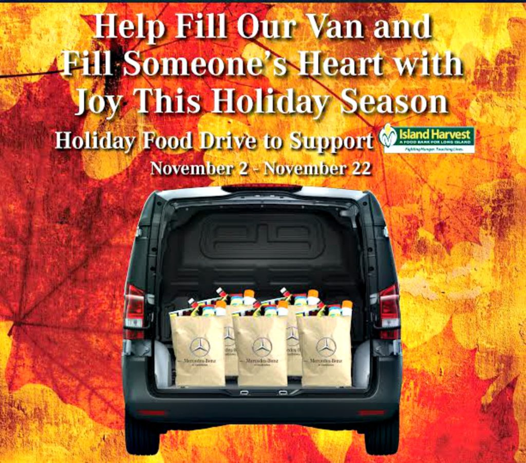 Holiday Food Drive | Mercedes-Benz of Smithtown