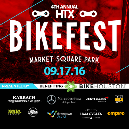 Mercedes-Benz of Sugar Land and McLaren Houston Sponsor HTX BikeFest