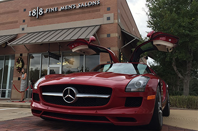 Mercedes benz of sugar land partners with new 18 8 men 39 s for Mercedes benz sugarland careers