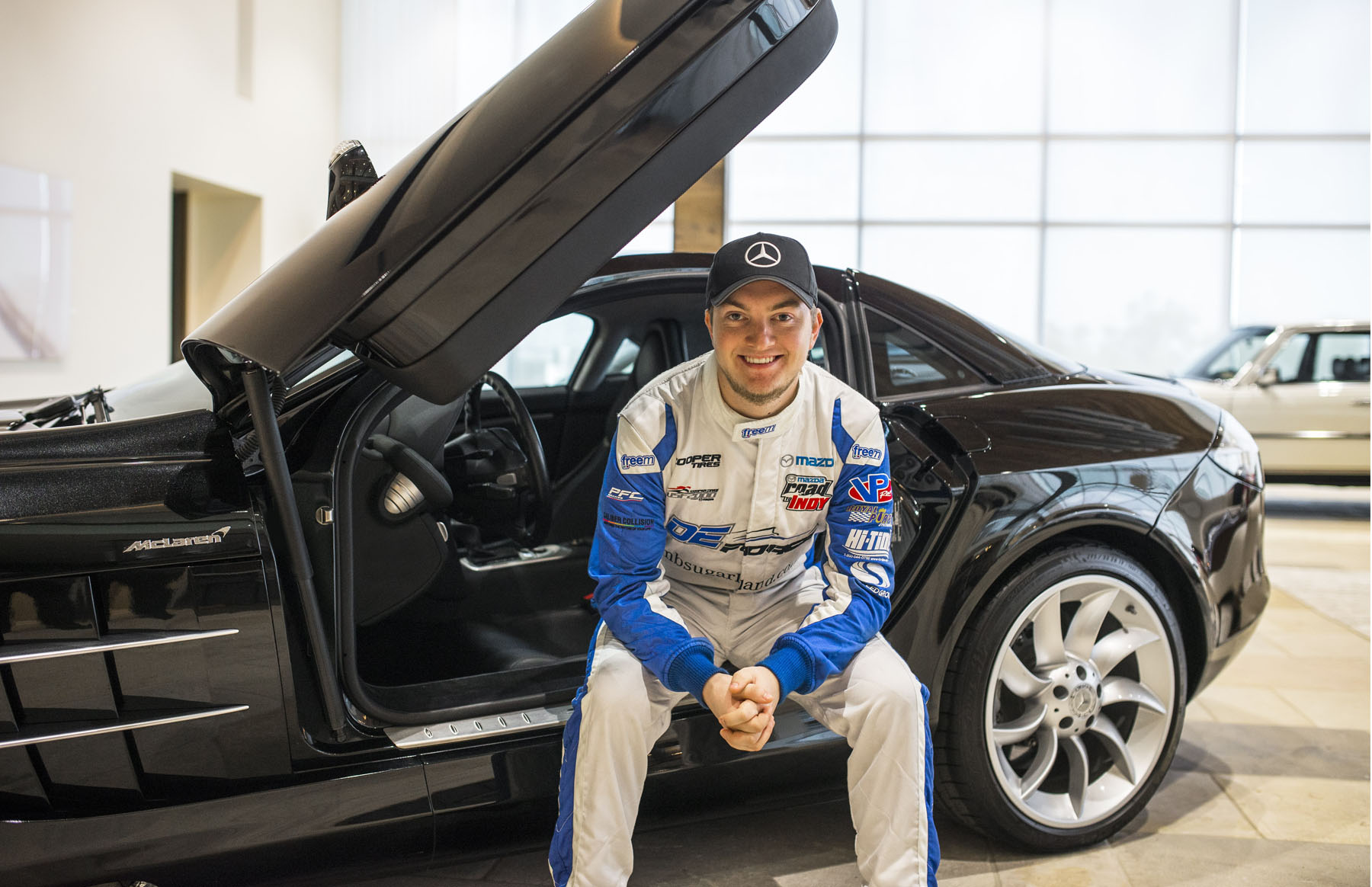 Mercedes benz of sugar land names an official driver for Mercedes benz houston sugarland