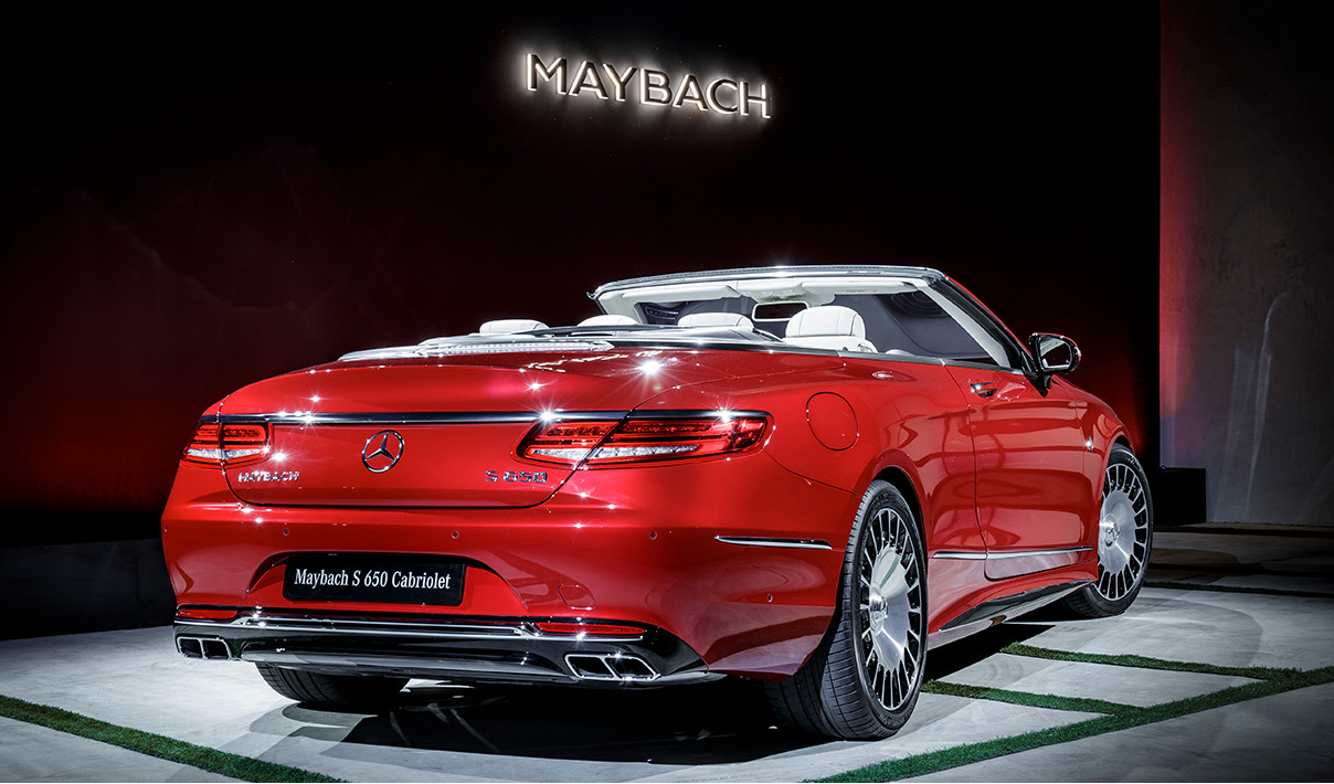 Mercedes Maybach S 650 Cabriolet Convertible