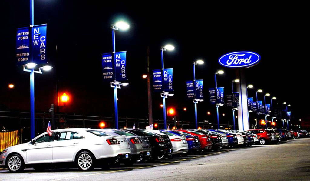 Metro Ford Nightime