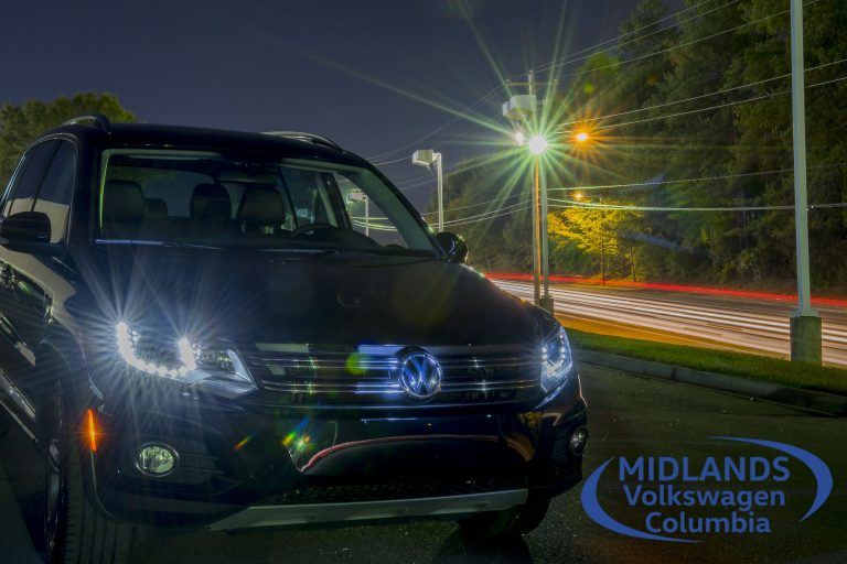 VW at night