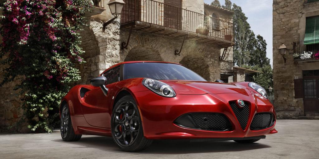 2017 Alfa Romeo 4C Coupe