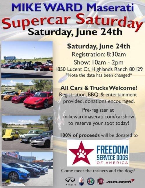 SuperCar Saturday Car Show