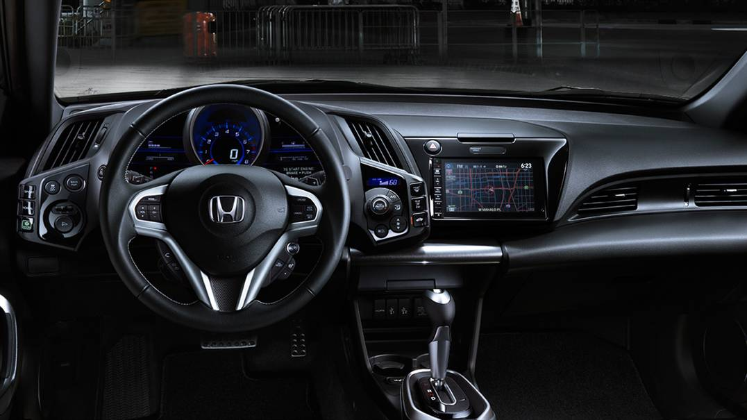 2016 Honda CR-Z dash