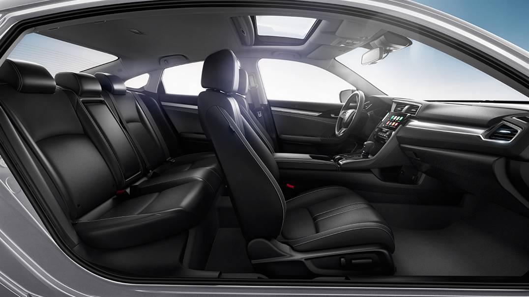 2016 Honda Civic Seats