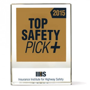 Top Safety Pick + Rating