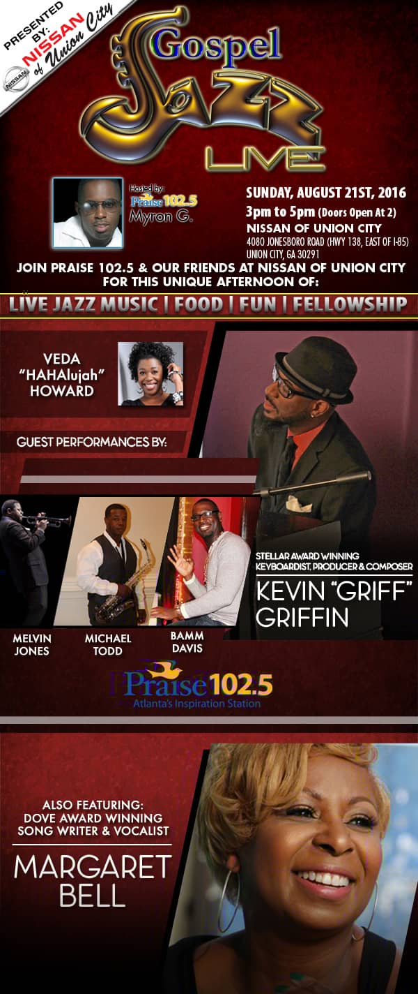 Palmetto Nissan Gospel Jazz Live Event | Nissan South of Union City