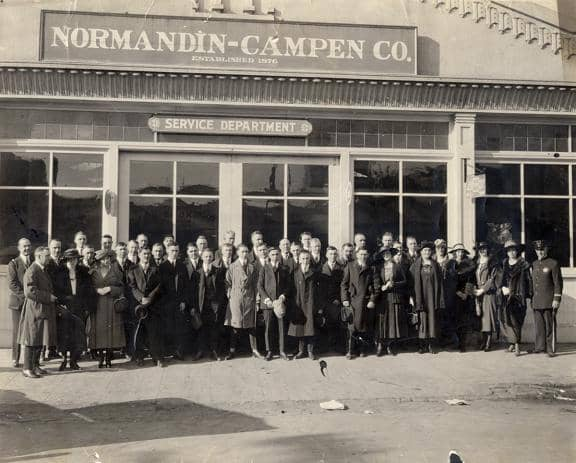 Normandin_History