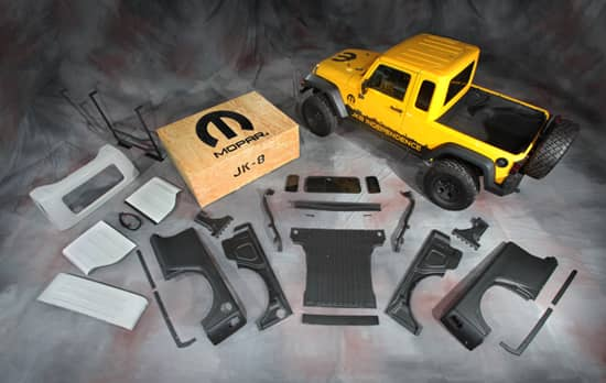 Jeep Wrangler Jk 8 Pickup Conversion Kit Normandin Chrysler Dodge