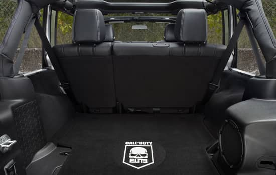 Jeep Wrangler Call Of Duty Mw3 Edition