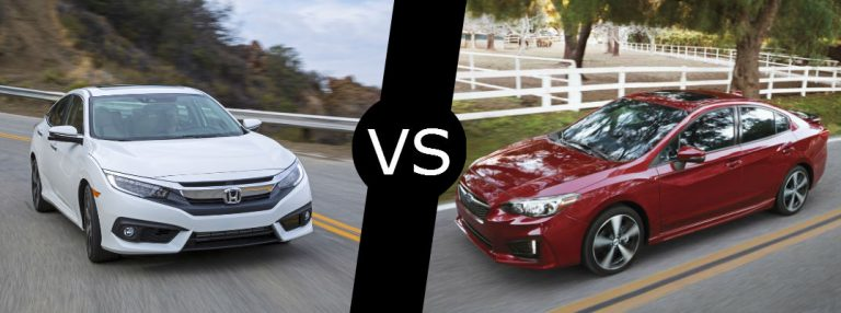 Honda Civic 2016 Vs 2017 >> How Do The 2017 Honda Civic Vs 2017 Subaru Impreza Compare