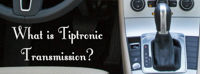 Tiptronic transmission