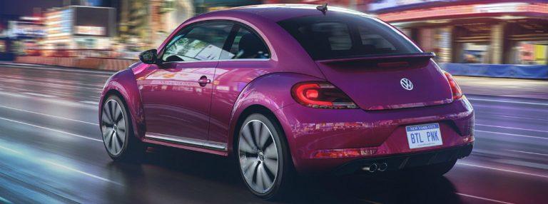 2017 Volkswagen Pink Beetle
