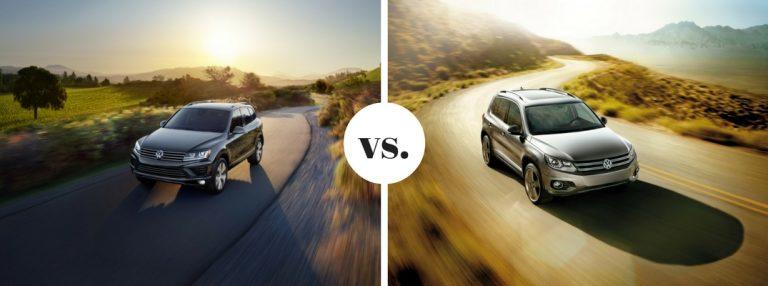 2017 Volkswagen Touareg vs. 2017 Volkswagen Tiguan