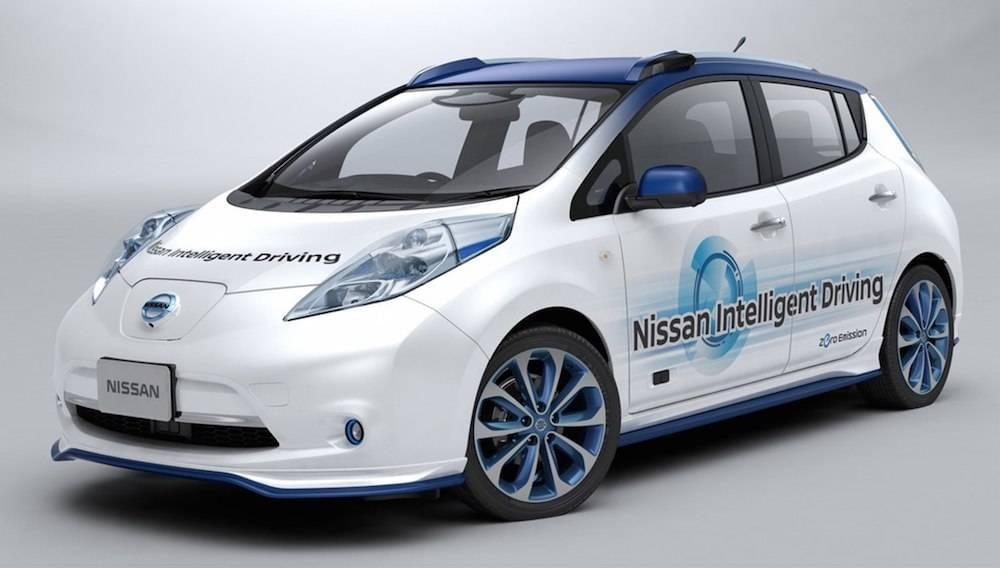 Nissan Puts Hat into Self-Driving Car Ring | Rolling Hills Nissan